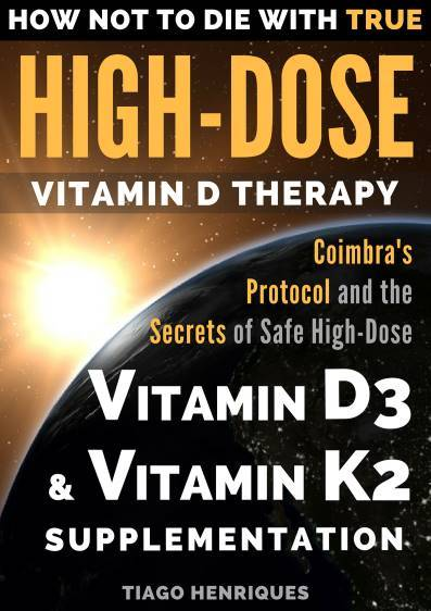 "Cover of the book ""How not to die with true high-dose vitamin D therapy"