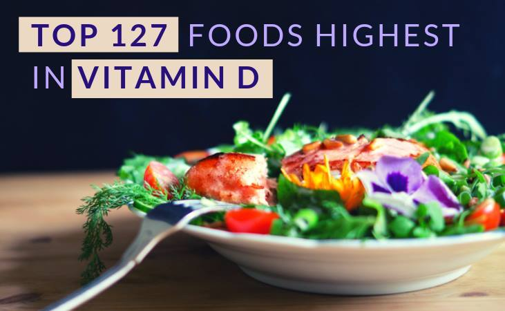Top foods highest in vitamin D