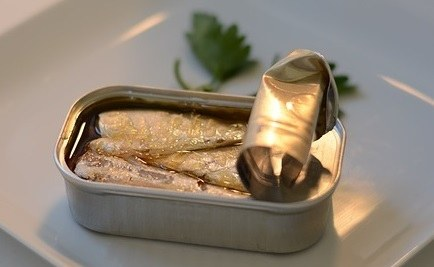 canned sardines calcium content