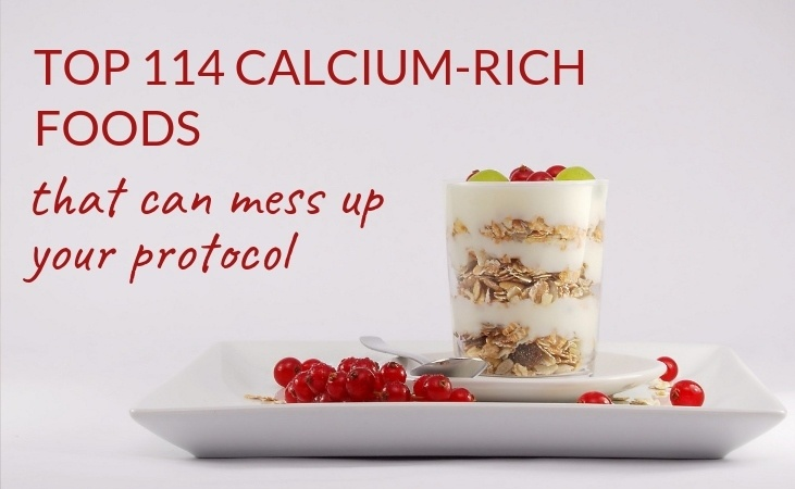 top calcium-rich foods