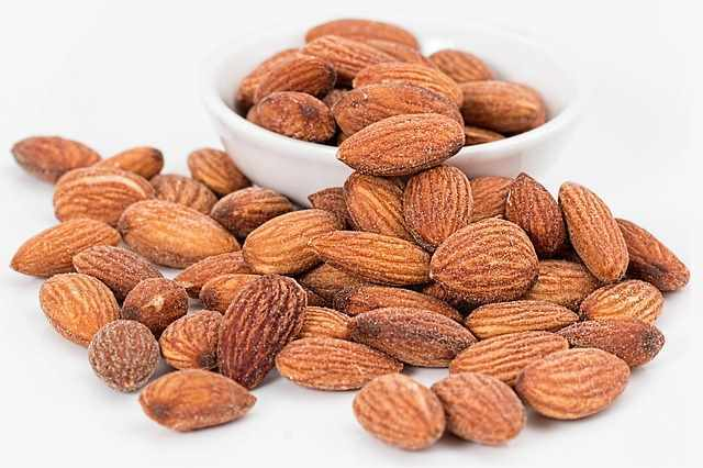 Almonds are one of the many nuts banned by the official guidelines